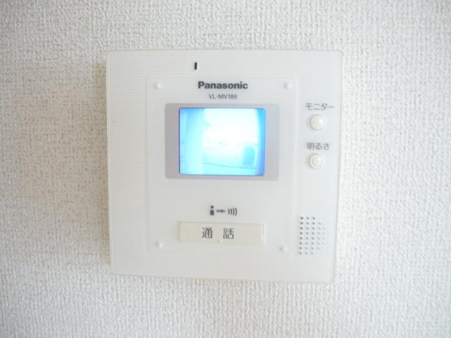 カーサ・セレノD 02010号室のセキュリティ