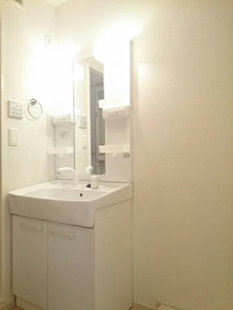 ミルレーヴⅢ 203号室の洗面所