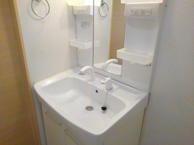 ベル・ソレイユ 01010号室の洗面所