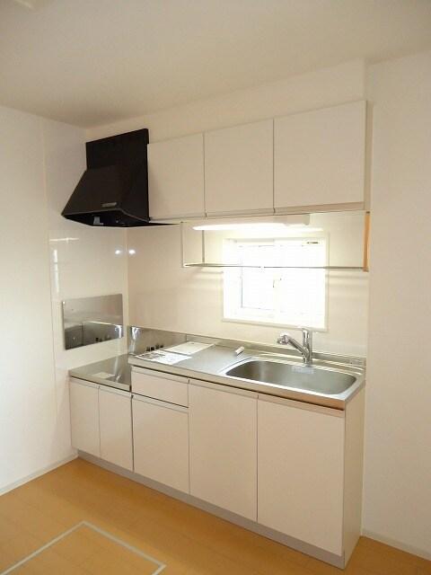 ハピネス 01040号室のキッチン