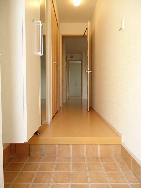ハピネス 01040号室の玄関