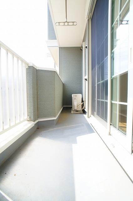 グルン ヒュース 01010号室のバルコニー