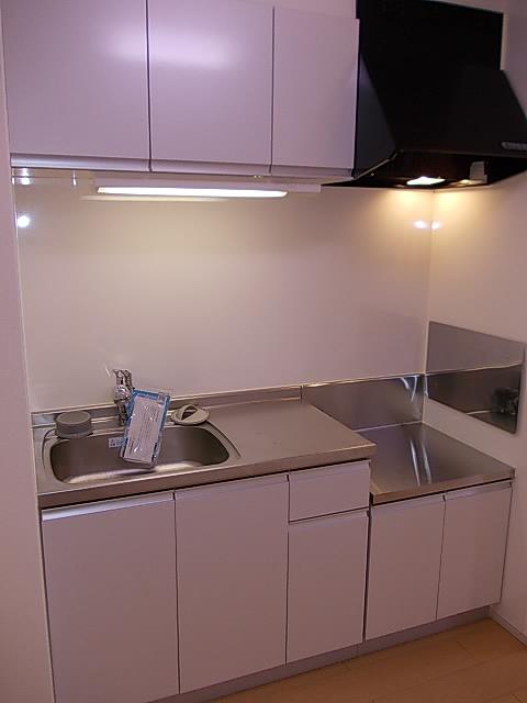 アルドーレ 201号室のキッチン