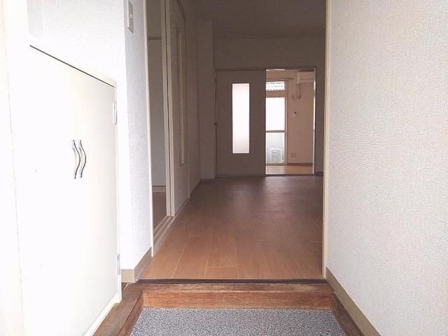 スカイビーンズ広田A 02010号室の玄関