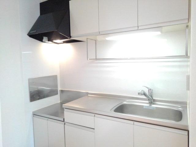 レジェンド B 01010号室のキッチン