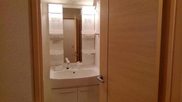 LOVELY 02020号室の洗面所