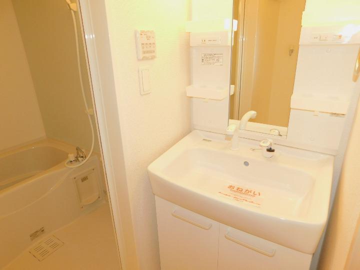 ライフノートⅢ 02010号室の洗面所