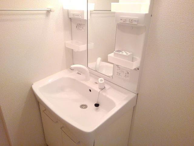 North Frontier 01020号室の洗面所