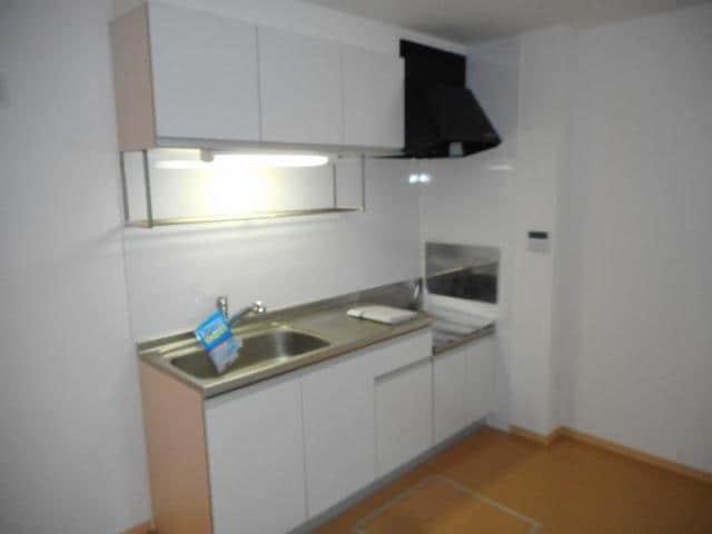 カフリーィエE 01030号室のキッチン