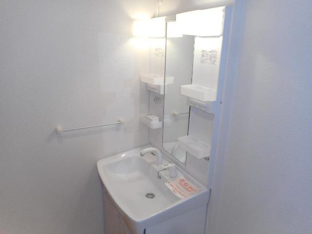 カフリーィエE 01030号室の洗面所