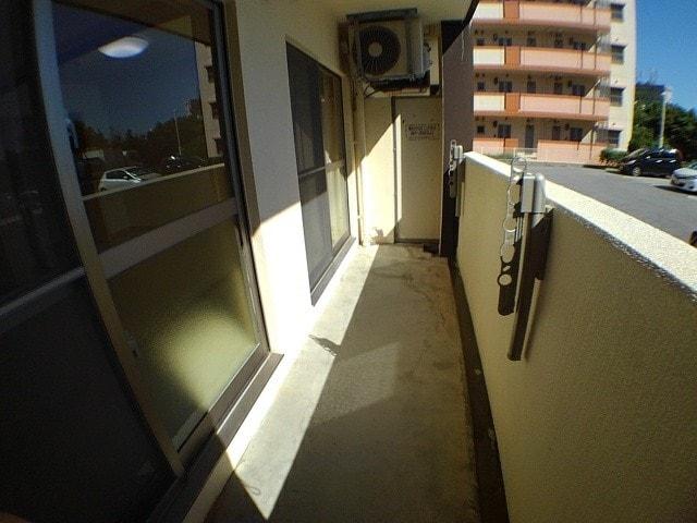 キャッスル協和Ⅲ 104号室のバルコニー