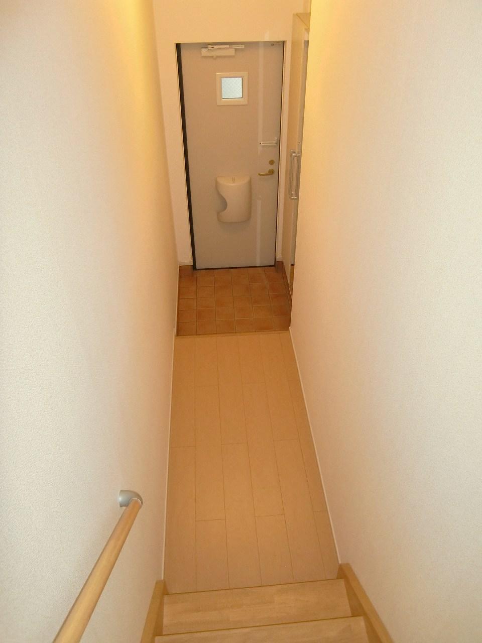 コーポ勢多Ⅵ番館 210号室の玄関