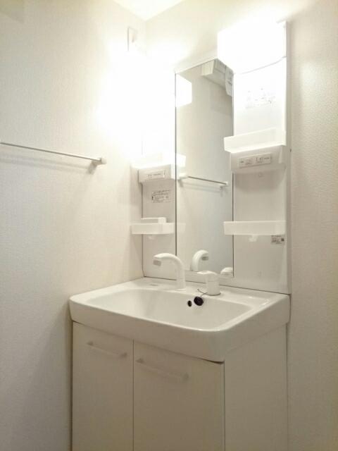 グリーンフォレストA 103号室の洗面所