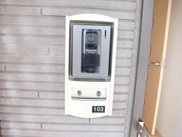 グリーンフォレストA 103号室のセキュリティ
