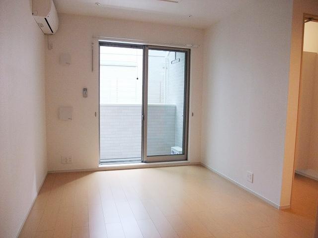 グリーンフォレストA 103号室のバルコニー