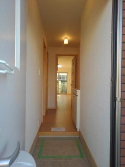 グレイスハイムⅥ 01010号室の玄関