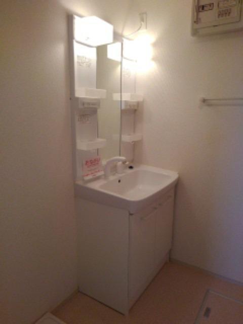 サンリットMⅡ 02010号室の洗面所