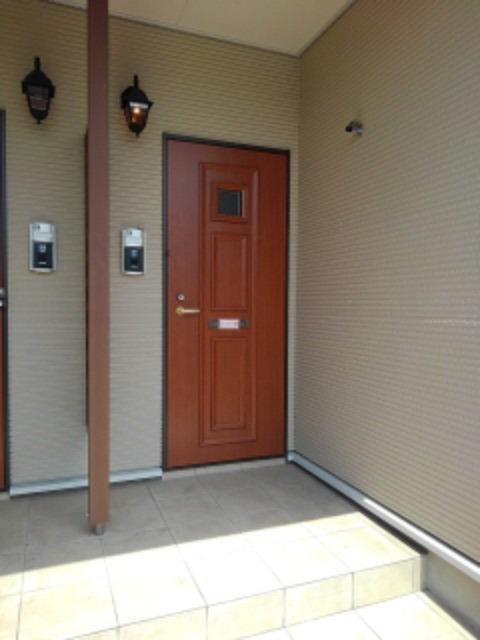 サンリットMⅡ 02010号室のエントランス