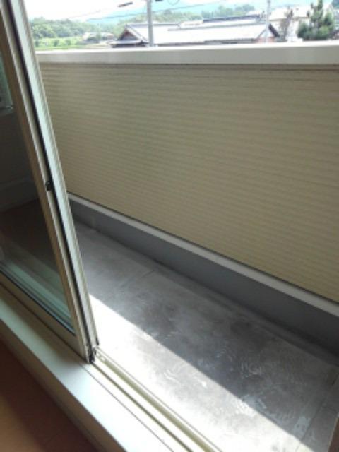 サンリットMⅡ 02010号室のバルコニー
