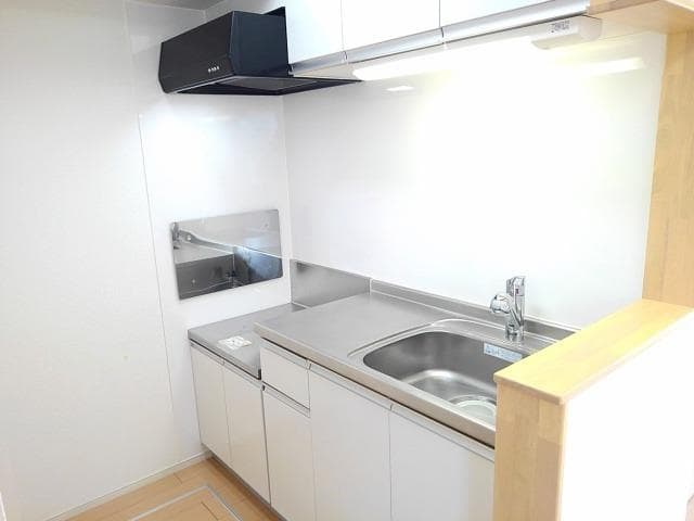 ゴールド・サン 01010号室のキッチン