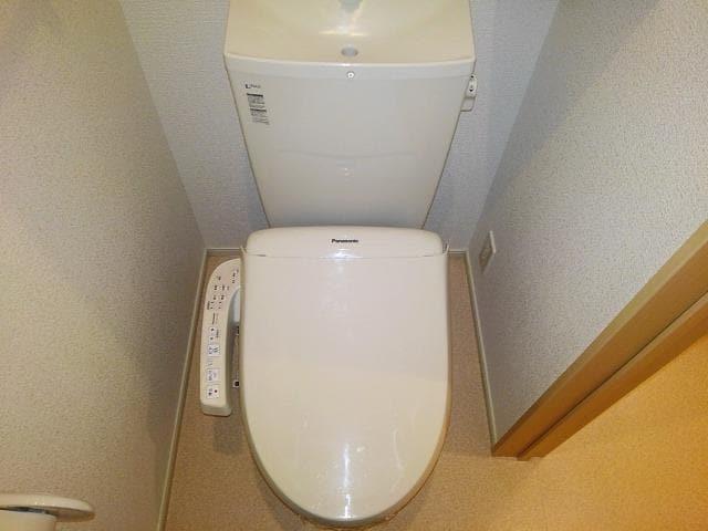 ゴールド・サン 01010号室のトイレ