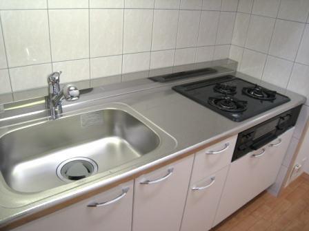 クラールハウスC 202号室のキッチン