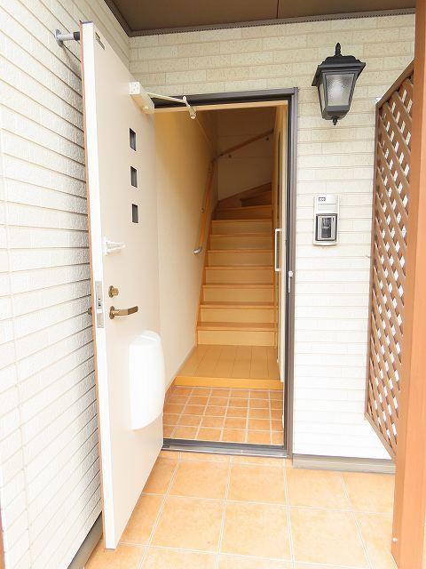 キャナルガーデンⅡ 02030号室の玄関