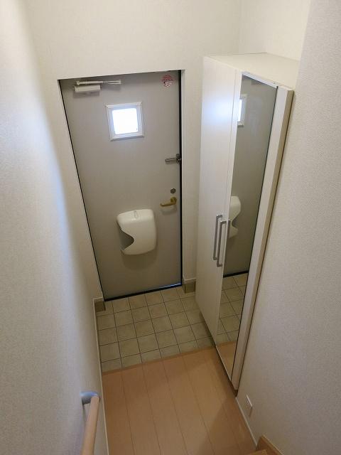 プリムラⅡ 201号室の玄関