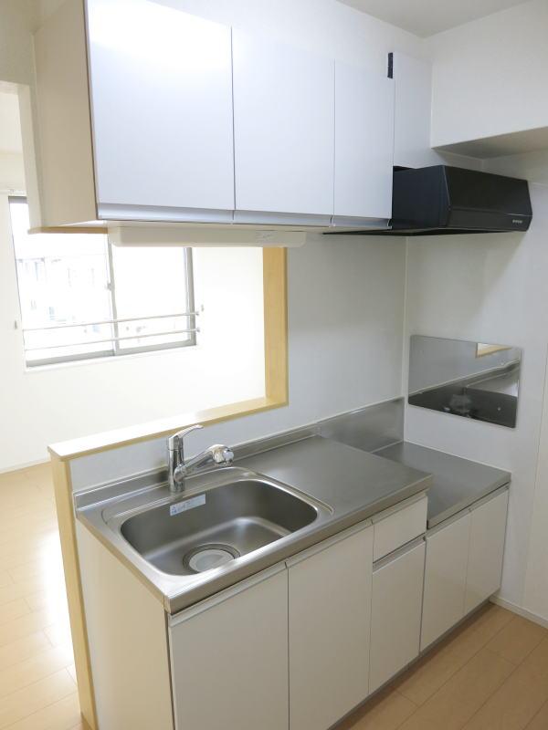 ヴィラ庄司田 301号室のキッチン