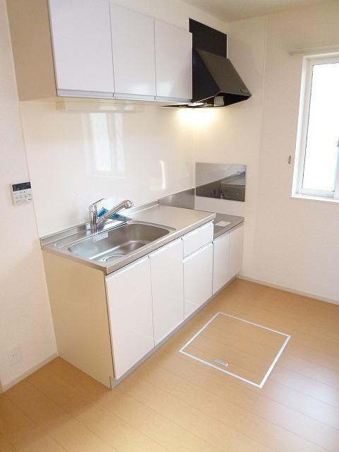ラフィーネ坂本 103号室のキッチン