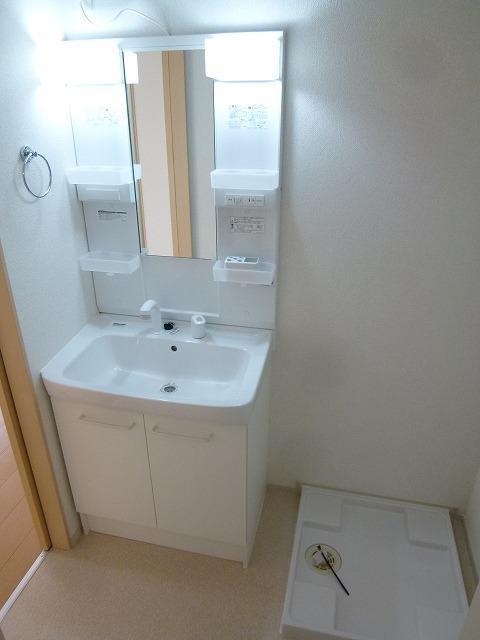 ラフィーネ坂本 103号室の洗面所