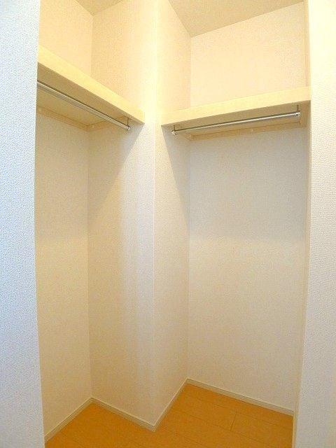 プレッソB 01020号室の収納