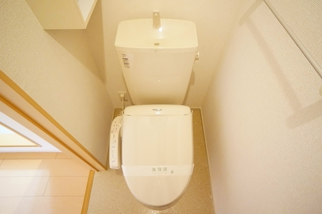 プレッソB 01020号室のトイレ