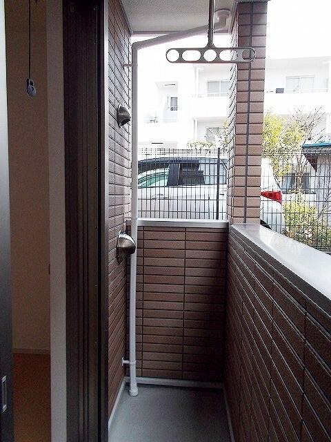 モーダ・パラッツォ 101号室のバルコニー