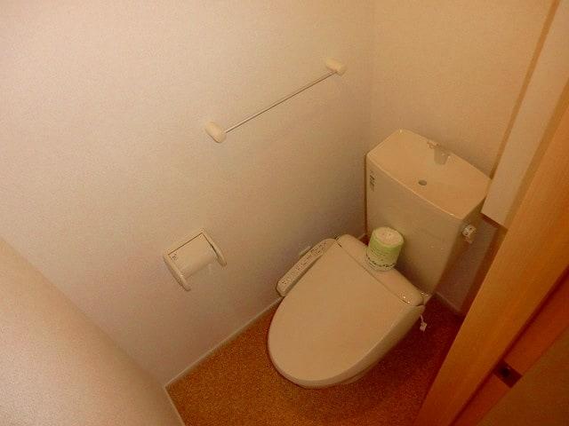 エレガント・ヒルズ 01010号室のトイレ