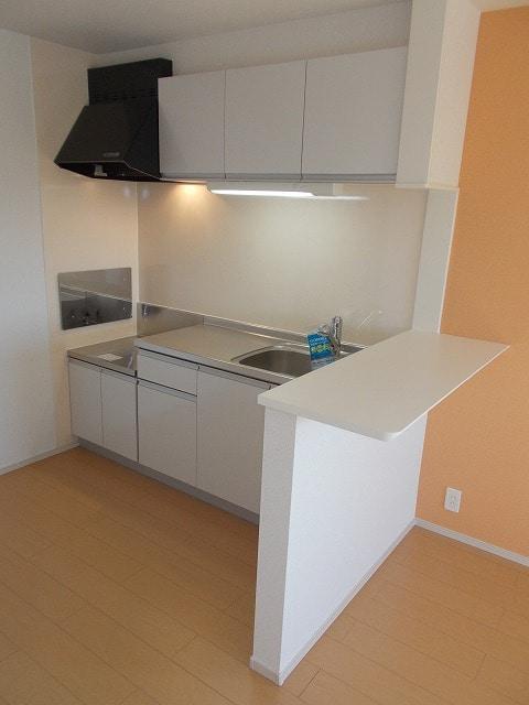 サン・フィオーレ 02030号室のキッチン