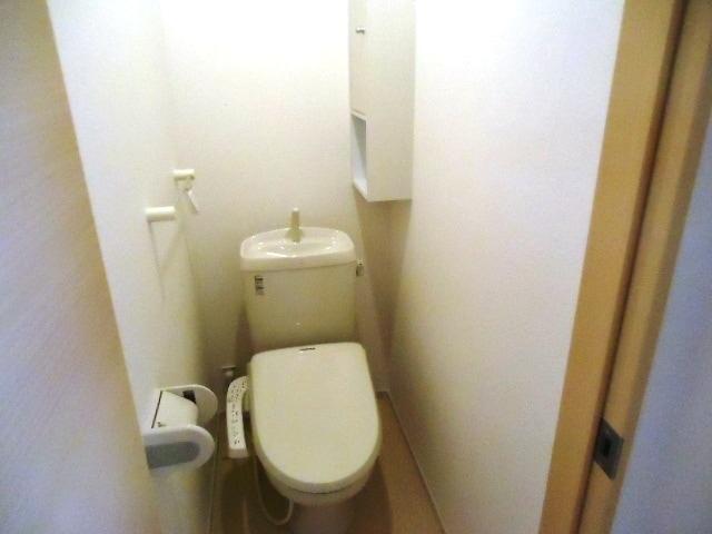 リュミエール オーブ 01050号室のトイレ
