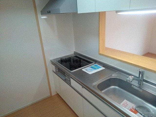 ルミエール下鴨 203号室のキッチン