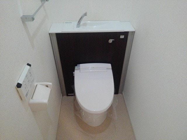 ルミエール下鴨 203号室のトイレ