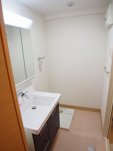 カルムヴィラいさおし 305号室の洗面所