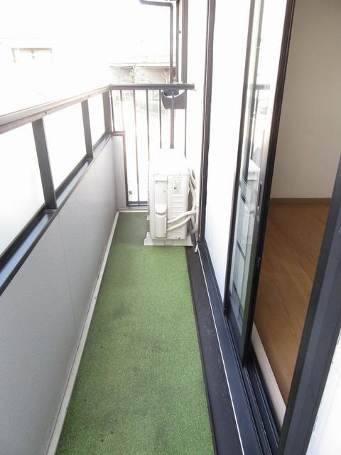 Up's Way KOGA 202号室のバルコニー