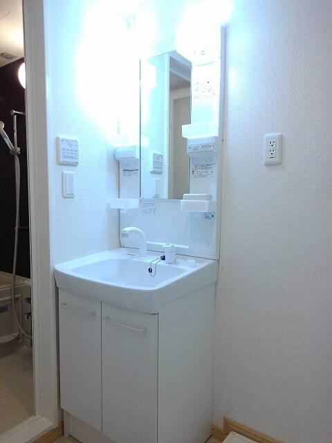 ヴィオラ プリート 03010号室の洗面所
