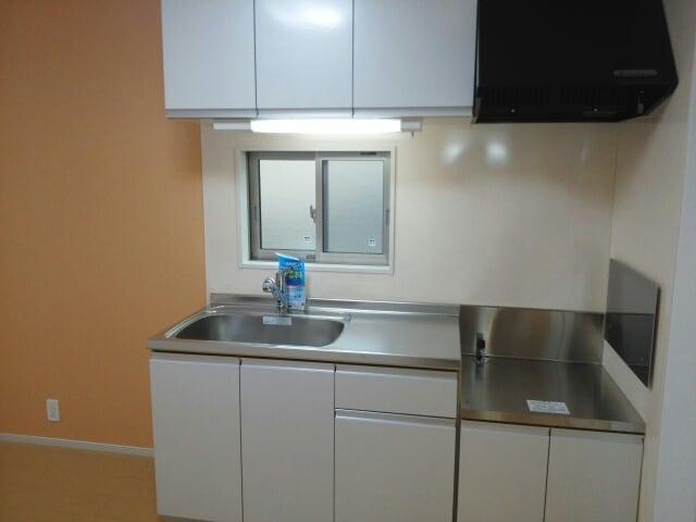 アパートメントこころ 01010号室のキッチン