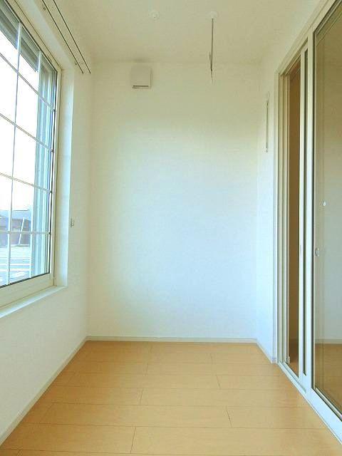 アンジュ・パッセA 01030号室のバルコニー