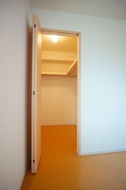 アンジュ・パッセA 02010号室の収納