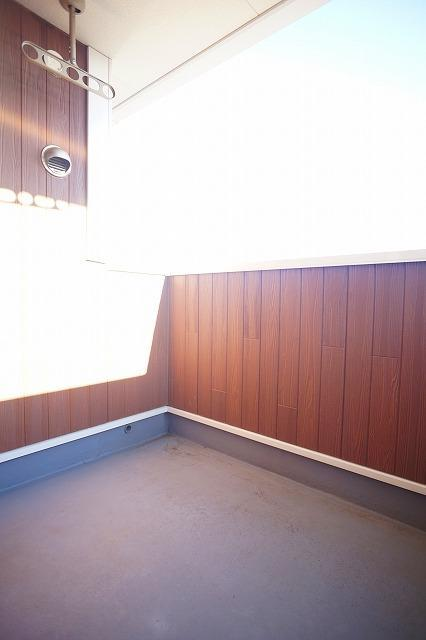 アンジュ・パッセA 02010号室のバルコニー