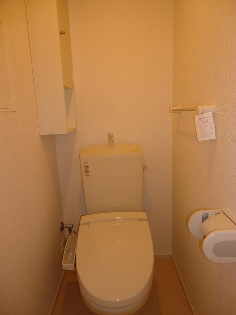 Viola弐番館 205号室のトイレ