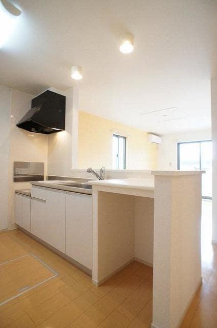 RI BIN 01040号室のキッチン