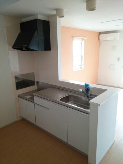 プロムナードA 201号室のキッチン