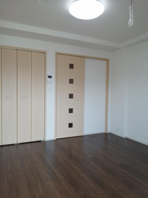 パークサイドK 02070号室のベッドルーム